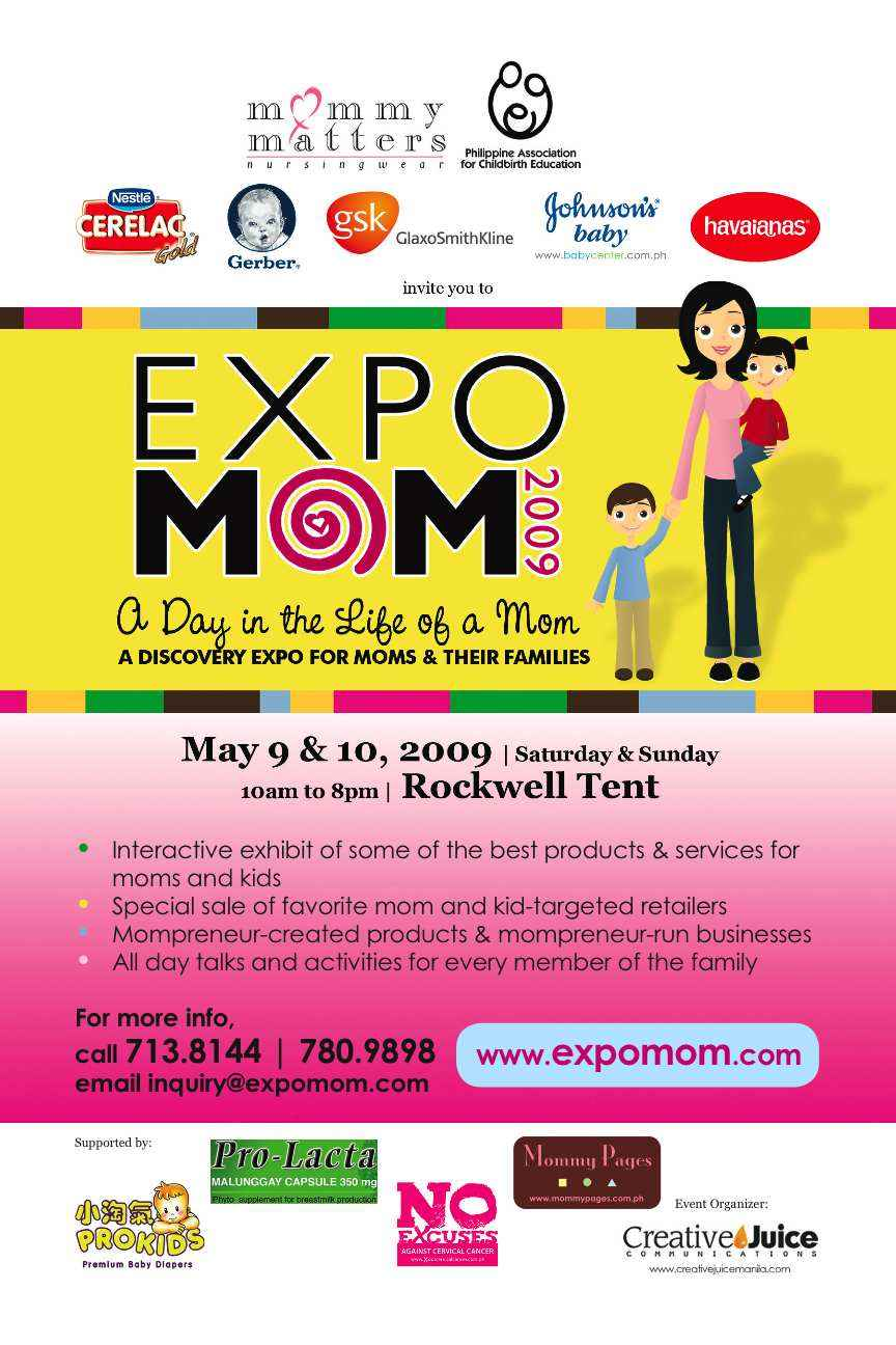 Official Flyer Expo Mom 2009