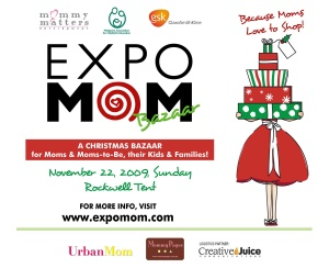 Expo Mom Bazaar @ the Rockwell Tent
